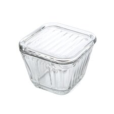 2 Cup Glass Refrigerator Storage Container