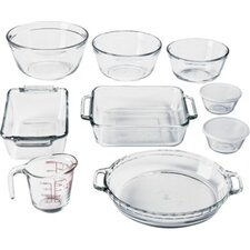 <strong>Anchor Hocking</strong> 11 Piece Bakeware Set
