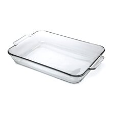 <strong>Anchor Hocking</strong> 5 Qt. Oven Basics Clear Glass Baking Dish (Set of 3)