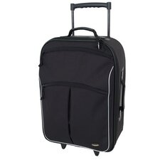 "22"" Coronado Black Upright Suitcase"