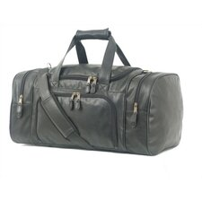 "<strong>Mercury Luggage</strong> Highland II Series 21"" Leather Carry-On Duffel"