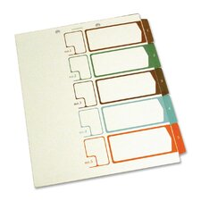 Speedex Side Tab TOC Divider