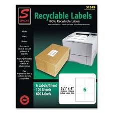 Recyclable Shipping Label (600 Per Box)