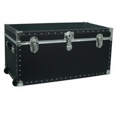 Trailblazer Oversize Trunk with Wheels in Black