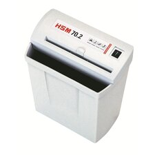 HSM 70.2,  7 sheet, strip-cut, 3.7 gal. capacity