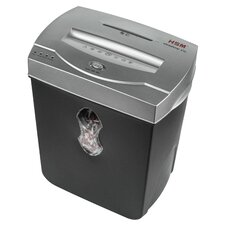 HSM shredstar X10, 10 sheet Cross Cut, 5.5 Gallon Capacity
