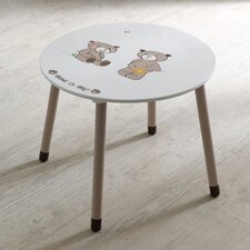 """Tisch rund """"Ted & Lily"""""""