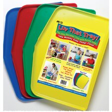 Kid's Plastic Placemats (Set of 4)