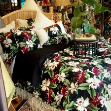 <strong>Hanalei Home</strong> Orchids Duvet Cover