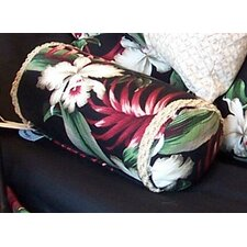 Orchids Cotton Neckroll Pillow