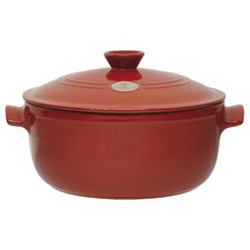 Olive 7-qt. Ceramic Round Dutch Oven