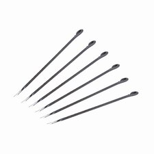 Flame Fondue Forks (Set of 6)