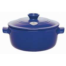 Azure 2 3/5-Qt. Flame Round Stew Pot