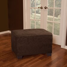 James Leaf Ottoman Slipcover