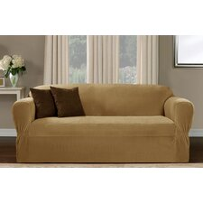 <strong>Maytex</strong> Collin Stretch One Piece Loveseat Slipcover