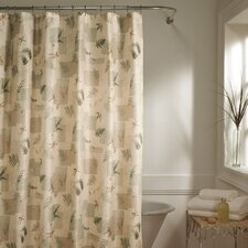 Julia Polyester Fabric Shower Curtain