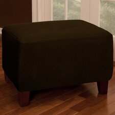 <strong>Maytex</strong> Reeves Stretch One Piece Ottoman Cover