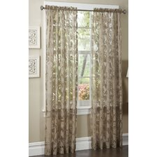 <strong>Maytex</strong> Pamela Rayon Rod Pocket Curtain Single Panel