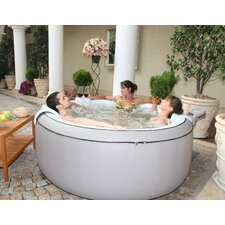 4-Person 115-Jet Elegance Inflatable Bubble Spa