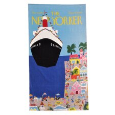 Conde Nast Cruise Ship Beach Towel