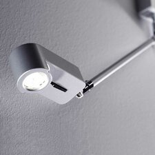 LedPipe 1 Light Swing Arm Wall Light