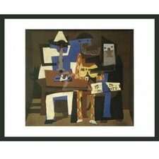 'Three Musicians' by Picasso Framed Painting Print