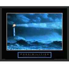 Motivational Possibilities Framed Photographic Print