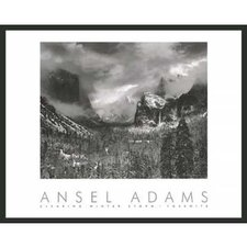 'Clearing Storm' by Ansel Adams Framed Photographic Print