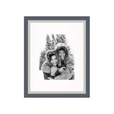 """11"""" x 14"""" Frame in Black with Silver Lip"""