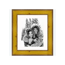 "8"" x 10"" Rustic Pitted Pine Frame in Yellow"