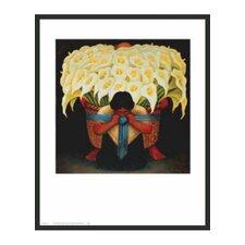 Rivera El Vendedor El Alcatraces Framed Painting Print