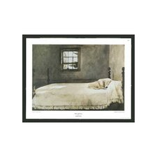 "Master Bedroom by Andrew Wyeth Framed Print - 15.5"" x 19"""