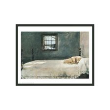 "Master Bedroom by Andrew Wyeth Framed Print - 22"" x 28.5"""
