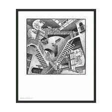 'Relativity' by Escher Framed Painting Print