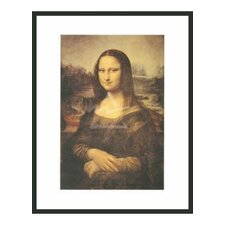 'Mona Lisa' by Da Vinci Framed Painting Print