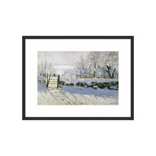 "<strong>Frames By Mail</strong> The Magpie by Monet Framed Print - 11"" x 14"""
