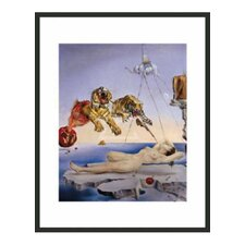 'Sting Caused by the Flight of the Bee' by Salvador Dali Framed Painting Print