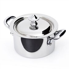 M'cook Miniature Stainless Steel Saucier with Lid