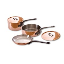 M'Heritage Stainless Steel 5-Piece Cookware Set