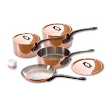 <strong>Mauviel</strong> M'Heritage Stainless Steel 7-Piece Cookware Set