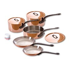 M'Heritage Copper 8-Piece Cookware Set