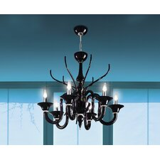 Belzebu 6 Light Chandelier