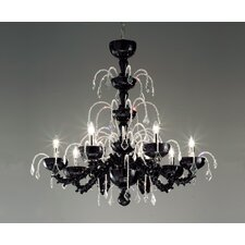 Massimo Tonetto Couture 8 Light Chandelier