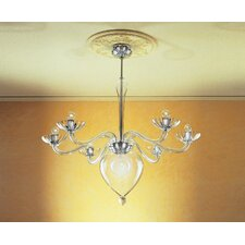 Orietta Indovino Veronese 6 Light Chandelier
