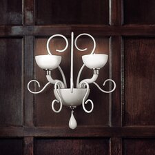 Bolero 2 Light Wall Light by Carlo Nason