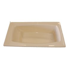 "72"" x 36"" Rectangular Whirlpool Tub"