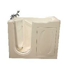 """52"""" x 27"""" Walk-In Tub with Whirlpool and Air Massage"""