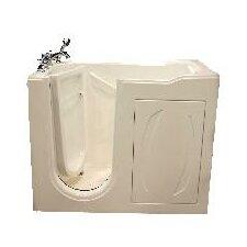 "52"" x 31"" Walk-In Tub with Whirlpool"