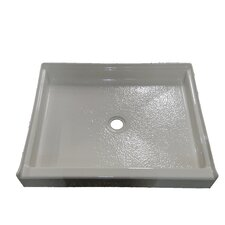 Single Threshold Square Shower Base