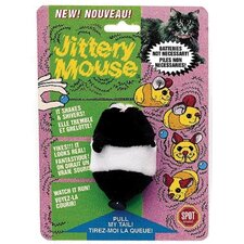 <strong>Ethical Pet</strong> Plush Jittery Mouse Cat Toy